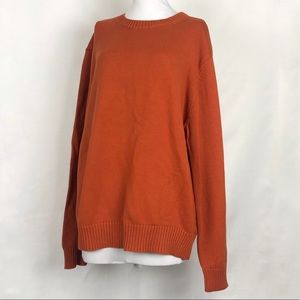 Orange Fall Sweater by ST JOHN'S BAY XL